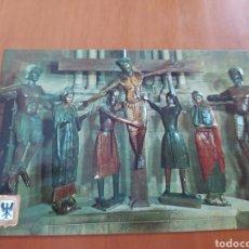 Postales: POSTAL RELIGIOSA SAN JOAN DE LES ABADESSES. Lote 207277940