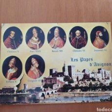 Postales: POSTAL LOS SIETE PAPAS DE AVIGNON. SIN CIRCULAR. Lote 207290077