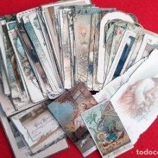 Postales: LOTE DE 100 ESTAMPAS RELIGIOSAD ANTIGUAS BUENA CONSERVACION VER TODAS LAS FOTOS ORIGINALES L100. Lote 207872235
