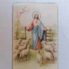 Postales: ESTAMPA RELIGIOSA, SAGRADO CORAZON DE JESUS, AÑO 1946. Lote 210718096