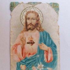Postales: ESTAMPA RELIGIOSA, SAGRADO CORAZON DE JESUS. Lote 210718407