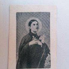 Postales: ESTAMPA RELIGIOSA, SANTA GEMA GALGANI. Lote 210718645