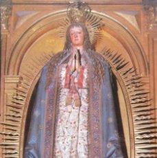 Postales: PURÍSIMA DE GREGORIO FERNÁNDEZ - 1626 - CATEDRAL DE ASTORGA. Lote 211429034