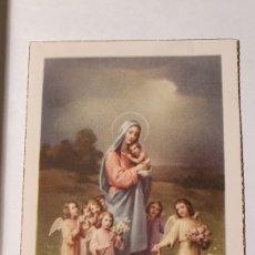 Postales: ESTAMPA/ ESTAMPITA/ RECUERDO RELIGIOSO/ (REF.B.26). Lote 211436651