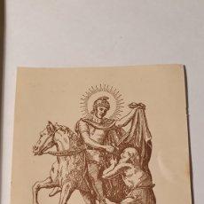 Postales: ESTAMPA/ ESTAMPITA/ SAN MARTÍN, OBISPO/ RECUERDO RELIGIOSO/ (REF.B.26). Lote 211436780