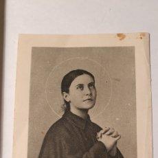 Postales: ESTAMPA/ ESTAMPITA/ SANTA GEMA GALGANI/ RECUERDO RELIGIOSO/ (REF.B.26). Lote 211436827