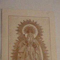Postales: RECUERDO NOVENA.VIRGEN DE LAS NIEVES.ARCOS DE LA FRONTERA 1933.CABALLERO INFANTE Y SOLDADO.. Lote 211508257