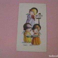 Cartes Postales: RECORDATORIO DE LA PRIMERA COMUNIÓN. IL. AMPARO. SEVILLA 1962. 10,5X6 CM.. Lote 211574116