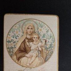 Postales: ANTIGUA ESTAMPA RELIGIOSA VIRGEN MARIA PROFESION RELIGIOSA 1926 ORIGINAL ESJ 1158. Lote 211600107