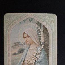 Postales: ANTIGUA ESTAMPA RELIGIOSA VIRGEN MARIA ORIGINAL ESJ 1159. Lote 211600249