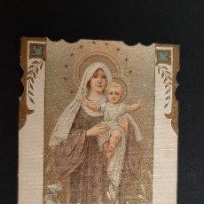 Postales: ANTIGUA ESTAMPA RELIGIOSA VIRGEN MARIA ORIGINAL ESJ 1160. Lote 211600309
