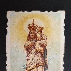Postales: ANTIGUA ESTAMPA RELIGIOSA NTRA SRA DEL CASTILLO DE CULLERA VALENCIA ORIGINAL ESJ 1188. Lote 211603206