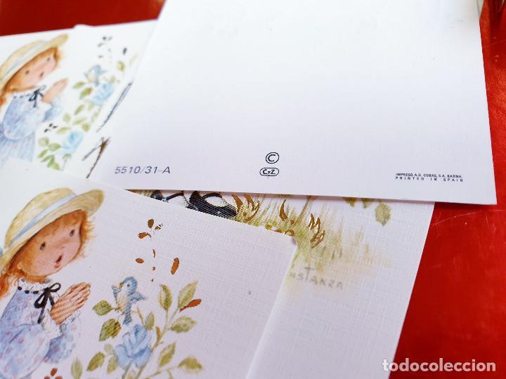 Postales: POSTAL RECORDATORIO-COMUNION O BAUTIZO-A.G.COBAS-S.A.BARNA-PRINTED SPAIN-VINTAGE-COLECCION-VER FOTOS - Foto 8 - 211741622