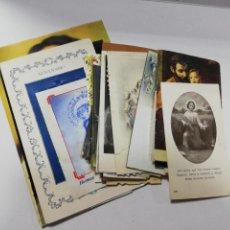 Postales: LOTE DE 25 ESTAMPITAS RELIGIOSAS. DIFERENTES VARIADAS. VER FOTOS.. Lote 212052153