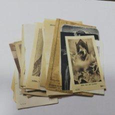 Postales: LOTE DE 25 ESTAMPITAS RELIGIOSAS. DIFERENTES VARIADAS. VER FOTOS.. Lote 212350410