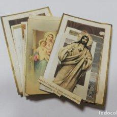 Postales: LOTE DE 25 ESTAMPITAS RELIGIOSAS. DIFERENTES VARIADAS. VER FOTOS.. Lote 212350525