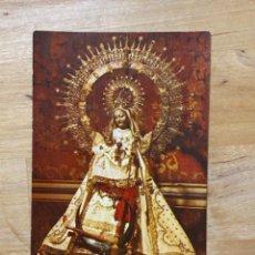 Postales: ESTAMPA RELIGIOSA NUESTRA SEÑORA DE FUENCISLA PATRONA DE SEGOVIA 11X7,3 CM. Lote 213705703