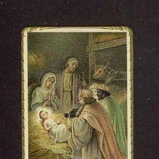 Postales: ESTAMPA RELIGIOSA: ADORACION DE LOS REYES MAGOS. EPIFANIA. Lote 214159285
