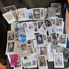 Postales: APROX. 55 ESTAMPAS Y MOTIVOS RELIGIOSOS EN FRANCÉS. Lote 217248991