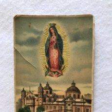 Postales: RELIGIOSA. ANTIGUA POSTAL DE LA VIRGEN DE GUADALUPE. Lote 217809260