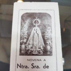 Postales: NOVENA VIRGEN DE LA ASUNCION PATRONA DE ELCHE ALICANTE. Lote 218111136