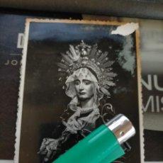 Postales: ANTIGUA POSTAL ORIGINAL SEMANA SANTA DE CARTAGENA VIRGEN ESPERANZA CALIFORNIOS , FOTOS CASAU. Lote 218130298