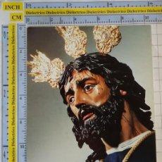 Postales: POSTAL RELIGIOSA SEMANA SANTA. MÁLAGA. DIVINO NOMBRE DE JESÚS NAZARENO DE LA SALUTACIÓN. 2956. Lote 218547407