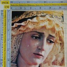 Postales: POSTAL RELIGIOSA SEMANA SANTA. MÁLAGA. MARÍA SANTÍSIMA DEL PATROCINIO REINA DE LOS CIELOS. 2957. Lote 218547418