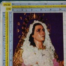Postales: POSTAL RELIGIOSA SEMANA SANTA. MÁLAGA. MARÍA SANTÍSIMA DE GRACIA. 2965. Lote 218547558