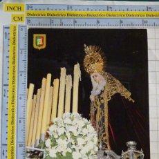 Postales: POSTAL RELIGIOSA SEMANA SANTA. MÁLAGA. AÑO 1990. NUESTRA SEÑORA DEL AMOR DOLOROSA. 71 ESCUDO O. 2970. Lote 218547675