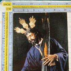 Postales: POSTAL RELIGIOSA SEMANA SANTA. MÁLAGA. DIVINO NOMBRE DE JESÚS NAZARENO DE LA SALUTACIÓN. 2971. Lote 218547687