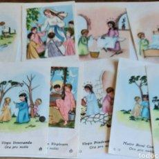 Postales: LOTE DE 12 POSTALES RELIGIOSAS DE LA MISMA SERIE.. Lote 219332443