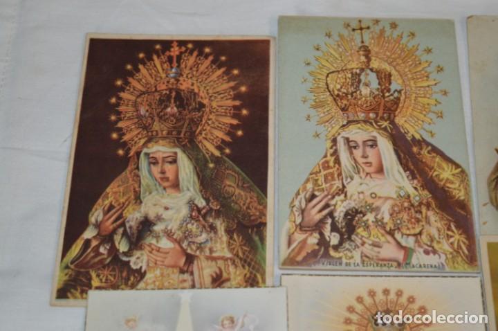 Postales: Lote 24 postales diferentes y antiguas / IMÁGENES RELIGIOSAS / En color - ¡Mira fotos/detalles! - Foto 2 - 220471782