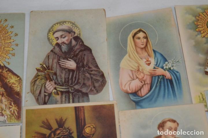 Postales: Lote 24 postales diferentes y antiguas / IMÁGENES RELIGIOSAS / En color - ¡Mira fotos/detalles! - Foto 3 - 220471782