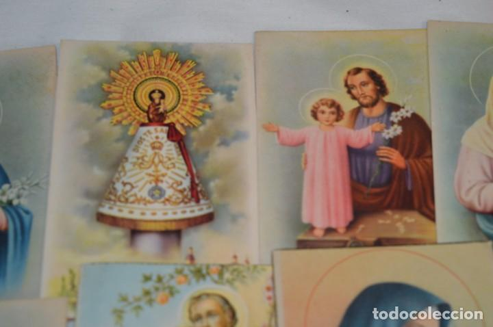 Postales: Lote 24 postales diferentes y antiguas / IMÁGENES RELIGIOSAS / En color - ¡Mira fotos/detalles! - Foto 4 - 220471782