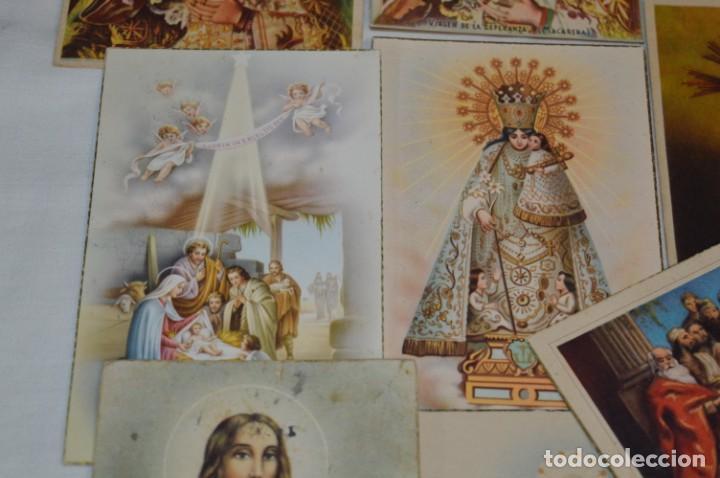 Postales: Lote 24 postales diferentes y antiguas / IMÁGENES RELIGIOSAS / En color - ¡Mira fotos/detalles! - Foto 6 - 220471782