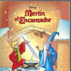 Postales: MERLÍN, EL ENCANTANDOR - DISNEY ( LEER DESCRIPCIÓN). Lote 221121861