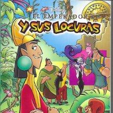 Postales: EL EMPERADOR Y SUS LOCURAS - DISNEY ( LEER DESCRIPCIÓN). Lote 221122336