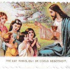 Postales: ESTAMPA JESÚS CON NIÑAS - 1301 GERMANY. Lote 221138813