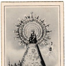 Postales: Nº 1578 - ESTAMPA LA SANTÍSIMA VIRGEN DEL PILAR - GUARDIA CIVIL TORRELLES DE FOIX 1952. Lote 221139151
