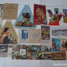 Postales: CONJUNTO DE ARTICULOS VARIOS TODOS DE MALAGA ,. Lote 221274396