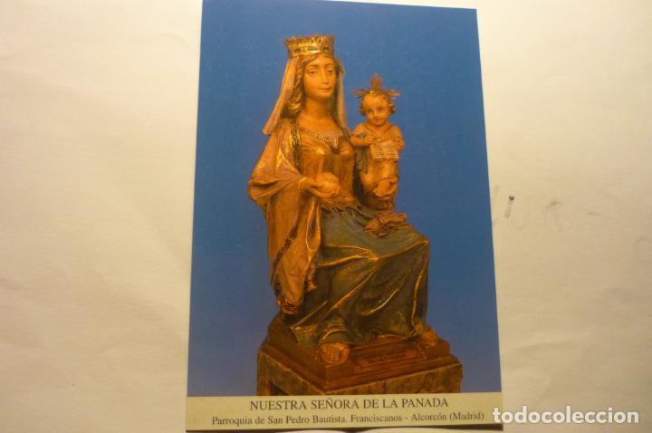POSTAL NTRA.SRA.DE LA PANADA-PARROQUIA S.PEDRO -ALCORCON---DORSO ORACION¡ (Postales - Postales Temáticas - Religiosas y Recordatorios)
