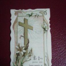 Postales: ESQUELA DEFUNCIÓN 1906. Lote 221701238