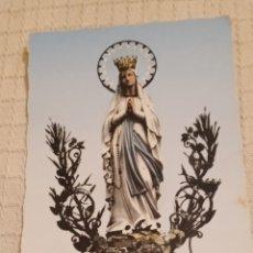 Postales: ANTIGUA POSTAL RELIGIOSA VIRGEN DE LOURDES EDICIONES D'ANFA. Lote 221720745
