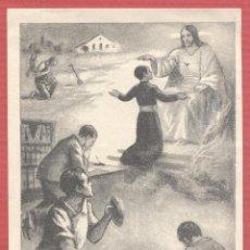 Postales: ESTAMPA RELIGIOSA IMAGEN DE JESUS EST.4087. Lote 221744088