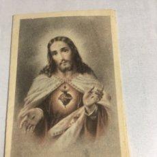 Postales: NOVENA DE CONFIANZA AL CORAZON DE JESUS. Lote 221744865