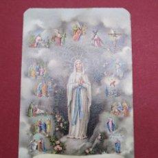 Postales: ANTIGUA ESTAMPA RELIGIOSA VIRGEN INMACULADA CONCEPCION - FB 1691 - MADE IN ITALY ...L2231. Lote 221771828