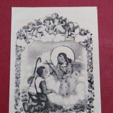 Postales: ANTIGUA ESTAMPA RELIGIOSA NTRA. SRA. DEL MIRACLE - ARTE SACRO E-65 ...L2244. Lote 221775032