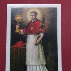 Postales: ANTIGUA ESTAMPA RELIGIOSA SANT RAMON NONAT - LA SEGARRA (LLEIDA) ...L2245. Lote 221775171