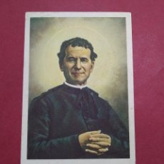 Postales: ANTIGUA ESTAMPA RELIGIOSA SANCTE JOANNES BOSCO, ORA PRO NOBIS ...L2246. Lote 221775338